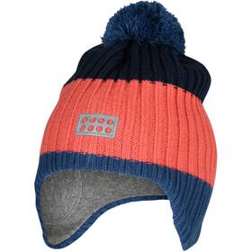 LEGO wear Lwanvik 701 Hat Børn, farverig/orange